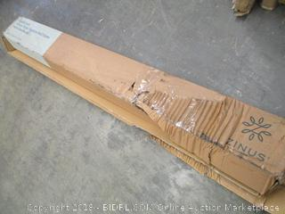 Zinus Quick Lock 14 in. Metal Platform Bed Frame with Headboard Queen