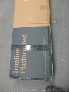 Zinus Ironline Platform Bed King