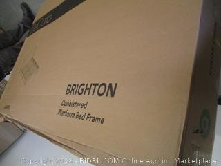 Decoro Brighton Upholstered Platform Bed Frame