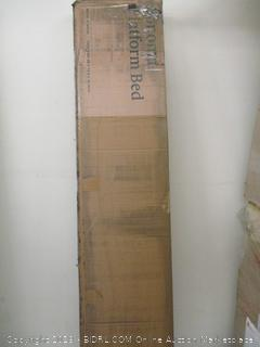 Zinus Sonoma Metal and Wood Platform Bed Twin
