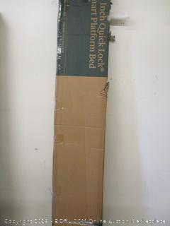 Zinus 14 Inch Quick Lock Smart Platform Bed King
