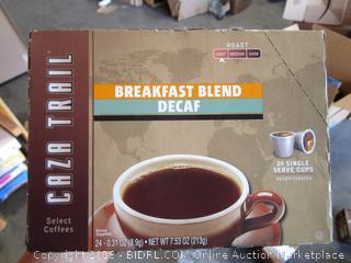 Caza trail Breakfast Blend Coffee