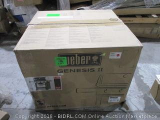 Weber Genesis II Sealed Opened for Pictures