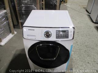 Samsung Electric Washer , Scratched, Dented See Pictures