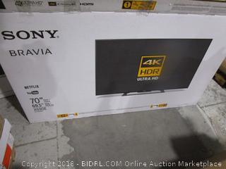 BIDRL COM Online Auction Marketplace - Sony Bravia 70