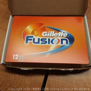 Gillette Fusion 12 Cartridges Pro Glide