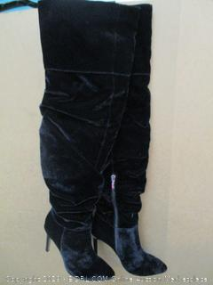 The Fix Moriah Thigh High Slouch Over the Knee Boots Size  8.5M