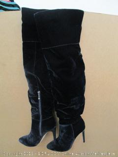 The Fix Moriah Thigh High Slouch Over the Knee Boots Size  9 M