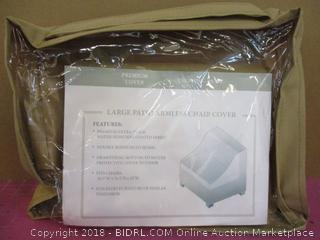 Large Patio Armless Chair Cover