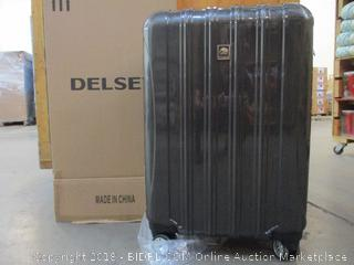 "Delsey Helium Aero 25"" Exp, Spinner Trolley Charcoal Luggage"