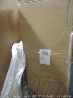 Greenco Versatile Cubical Storage Organizer Bookcase, 16 Cubes - White