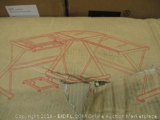 Walker Edison 3 Piece Soreno Corner Desk