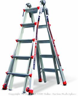Little Giant 12022 RevolutionXE Multi-Use Ladder, 22-Foot (Retail: $310.79)