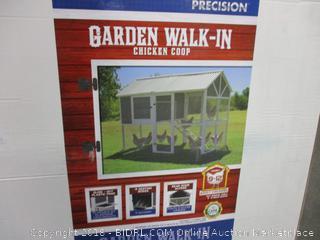 Garden Walk-In Chicken Coop