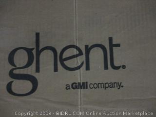 "Ghent 4.5"" x 10.5"" Aluminum Frame Porcelain Magnetic Whiteboard (Retail $490.00)"