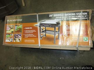 Blackstone 28 inch Outdoor Flat Top Gas Grill Griddle Station - 2-burner - Propane Fueled - Restaurant Grade - Professional Quality ($211.00)