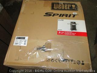 Weber Spirit E-210 LP Gas Grill