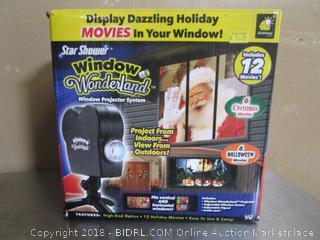 Window Wonderland Star Shower Light
