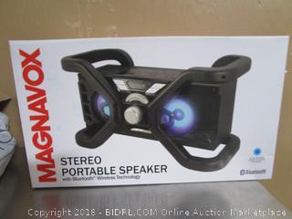 Magnavox Stereo Portable Speaker