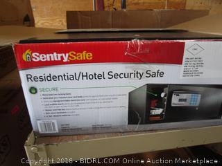 Sentry Safe (no keys, no code)