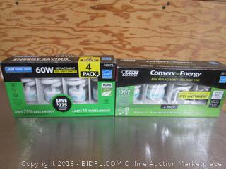 60W/13W Light Bulbs