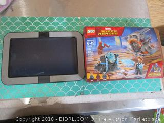 Boogie Board & Marvel Thor Lego Set