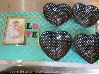 Love Hearts Valentines Items