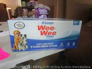 XL dog diaper pads