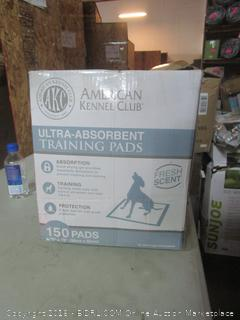 ultra-absorbent dog potty training pads