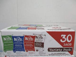 Kettle Brand Potato Chips Variety Pack