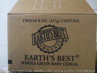 Earth's Best Whole Grain Rice Cereal