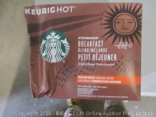 Keurighot Starbucks Breakfast Medium Roast K-Cups