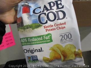 Cape Cod Reduced Fat Original Kettle Cooked Potato Chips