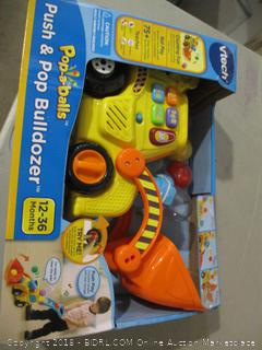 Vtech Push & Pop Bulldozer