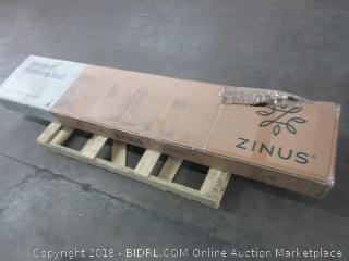 ZInus Metal and Wood Platform Bed