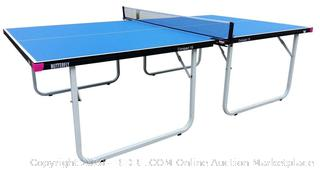 Butterfly Compact Table Tennis Table - Folding Ping Pong Table (Retail $559.00)