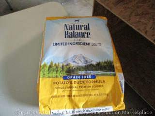 Natural Balance Grain Free Dog Food