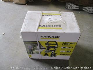 Karcher electric pressure washer -- please preview