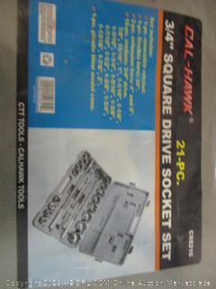 Cal-Hawk square drive socket set