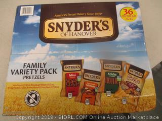 Snyders Variety Pretzels