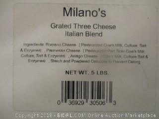 Milano Grated 3 Cheese