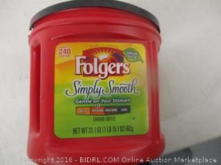 Folgers Coffee Simply Smooth