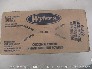Wylers Chicken Flavored Instant Boullion Powder
