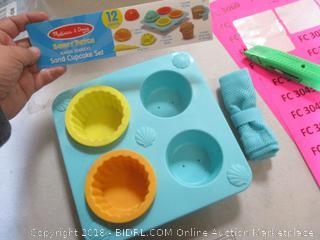 Sand Cupcake Set