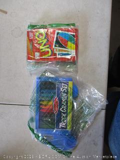 Uno Cards & Crayons