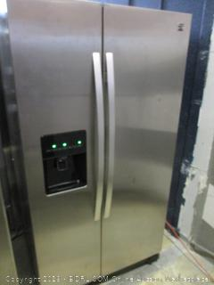 Kenmore Refrigerator Powers On Dented See Pictures