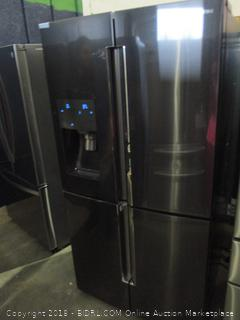 Samsung Refrigerator Powers On, Metal Cooling, Dented,  See Pictures
