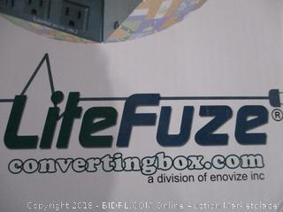 Lite Fuze Converting Box Step up & Down Transformer  Powers On