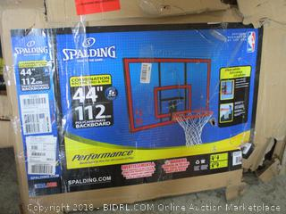 Spalding Combination Backboard & Rim