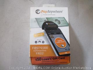 Pay Anywhere Credit Card Reader See Pictures